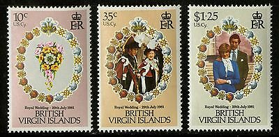 Virgin Islands   1981   Scott #406-408   MNH Set