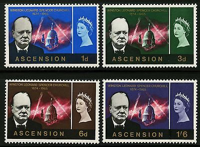 Ascension  1966   Scott # 96-99  MNH Set
