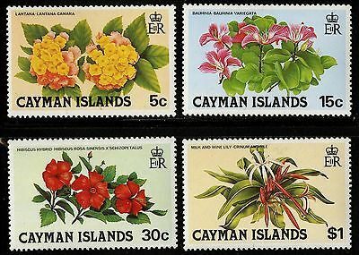 Cayman Islands   1980   Scott # 448-451   Mint Never Hinged Set