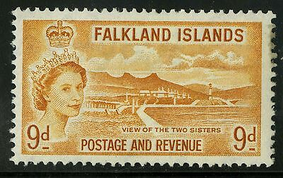 Falkland Islands  1957   Scott #126   Mint Lightly Hinged