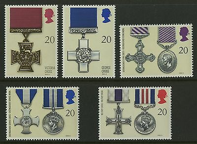 Great Britain   1990   Scott #1331-1335    Mint Never Hinged Set