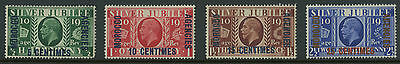 Morocco Agencies 1935   Scott #67-70    Mint Never Hinged Set
