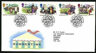 Great Britain 1994  Scott # 1572-1576 FDC