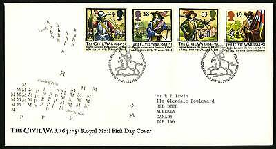 Great Britain 1992  Scott # 1454-1457  FDC