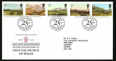 Great Britain 1994  Scott # 1548-1552  FDC