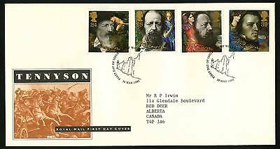 Great Britain 1992  Scott # 1441-1444  FDC