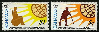 Bahamas   1981   Scott # 484-485   MLH Set