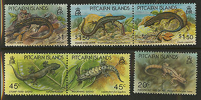Pitcairn Islands  1993  Scott #389-394a  MNH Set