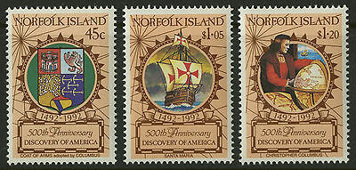 Norfolk Islands   1991   Scott # 517-519    Mint Never Hinged Set