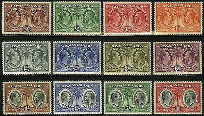 Cayman Islands   1932   Scott # 69-80  Mint Hinged Set