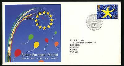 Great Britain 1992  Scott # 1467  FDC