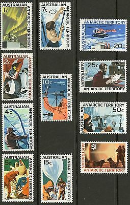 Australia Antarctic  1966-68   Scott #L8-L18  MNH Set
