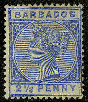 Barbados   1882-85   Scott #62   MH