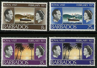 Barbados   1975   Scott #416-419   MLH Set