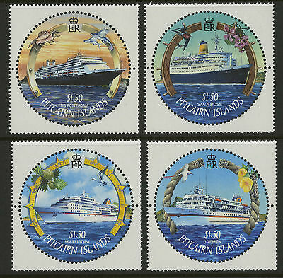Pitcairn Islands  2001  Scott #531-534  MNH Set