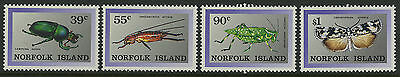 Norfolk Island   1989   Scott # 448-451    Mint Never Hinged Set