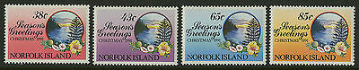 Norfolk Islands   1991   Scott # 510-513    Mint Never Hinged Set