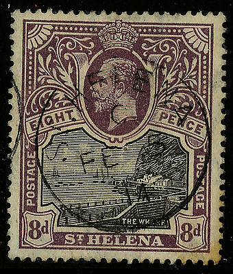 St Helena   1912-16   Scott # 67   USED