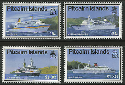 Pitcairn Islands  1991  Scott #350-353  MNH Set