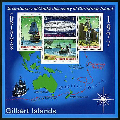 Gilbert Islands   1977   Scott # 303a   MNH Souvenir Sheet