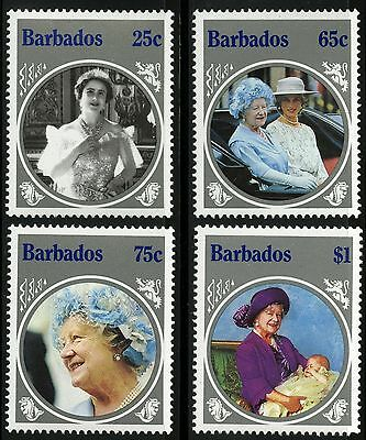 Barbados   1985   Scott #660-663   MNH Set