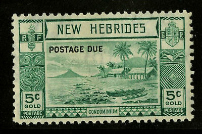 New Hebrides Eng  1938   Scott # J6  MLH
