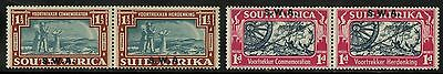 South West Africa   1938  Scott #133-134   Mint Very Lightly Hinged Set