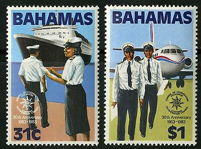 Bahamas   1983   Scott # 536-537   MLH Set