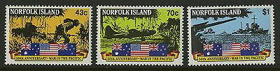 Norfolk Island   1991   Scott # 514-516    Mint Never Hinged Set