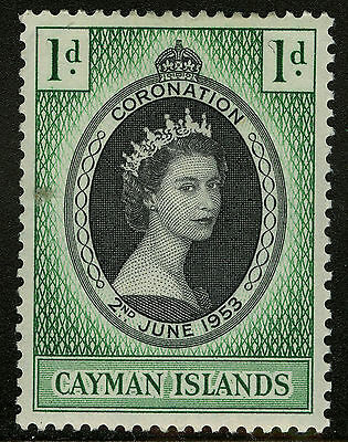 Cayman Islands   1953   Scott # 150  Mint Lightly Hinged