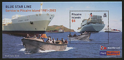 Pitcairn Islands  2003  Scott #571  MNH Souvenir Sheet