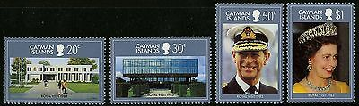 Cayman Islands   1983   Scott # 506-509   Mint Never Hinged Set