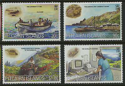 Pitcairn Islands  2000  Scott #524-527  MNH Set