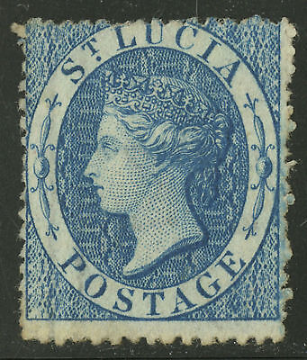 St Lucia  1860  Scott #2    USED