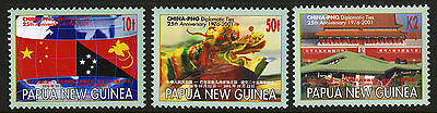Papua New Guinea   2001   Scott #1005-1007    Mint Never Hinged Set