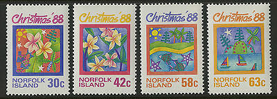 Norfolk Islands   1988   Scott # 440-443    Mint Never Hinged Set
