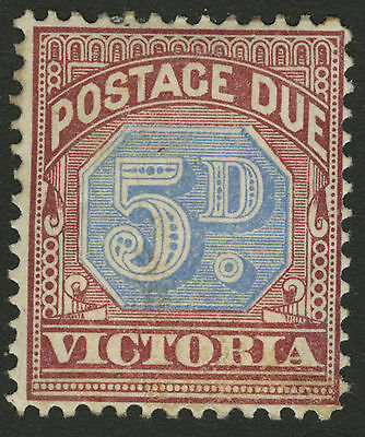 Victoria   1890   Scott # J5   Mint Hinged