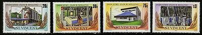 St Vincent   1985  Scott #882-885  MNH Set