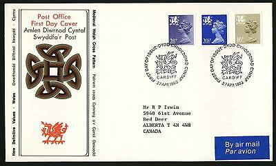 Wales 1983  Machins Combo FDC