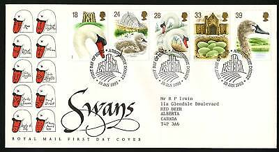 Great Britain 1993  Scott # 1473-1477  FDC