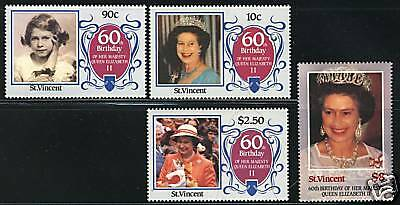 St Vincent   1986  Scott #923-926  MNH Set