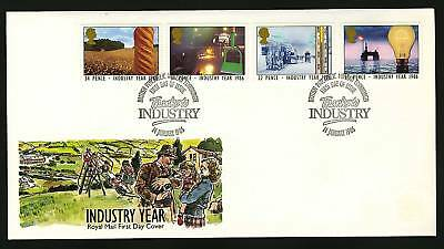 Great Britain 1986  Scott # 1129-1132   FDC