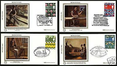 Great Britain 1982  Scott # 996-999  FDC  Set