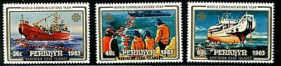 Penryhn Island  1983  Scott # 228-230  Mint Never Hinged  Set