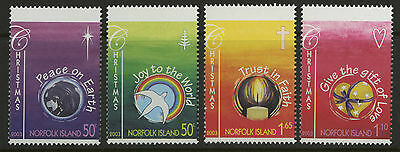 Norfolk Island   2003   Scott # 797-800    Mint Never Hinged Set