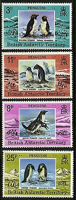 British Antarctic Territory   1979   Scott #72-75   MNH Set