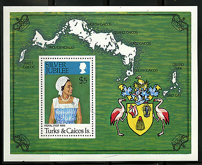Turks & Caicos   1977   Scott #324    Mint Never Hinged Souvenier Sheet