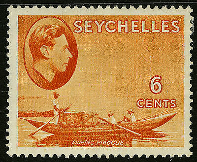 Seychelles  1938-41   Scott # 128   Mint Lightly Hinged