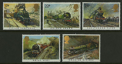 Great Britain   1985   Scott #1093-1097    Mint Never Hinged Set