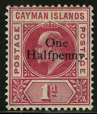 Cayman Islands   1907-08   Scott # 17  Mint Lightly Hinged